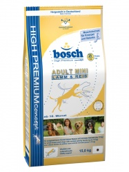 Сухой корм Bosch (Бош) Adult Mini Lamb&Rice (с ягненком) ― ALL4DOGS.RU